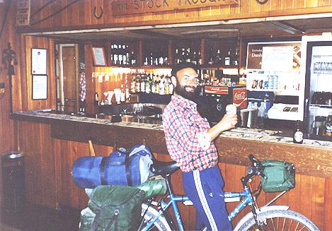 at  Arkaroola's bar - Copyright Otto OMallee