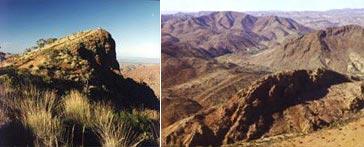 Sillers Lookout and near Radium Ridge - Copyright Otto OMallee